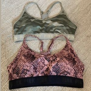 Pink Ultimate Lighly Lined Sports Bra L